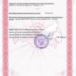 Лицензия МЧС Спецстройсистемы л2