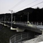 Мост 32 вечером