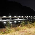Мост 4 ночью