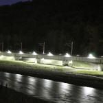 Мост 5 ночью