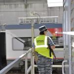 Охрана на посту 7 тоннель